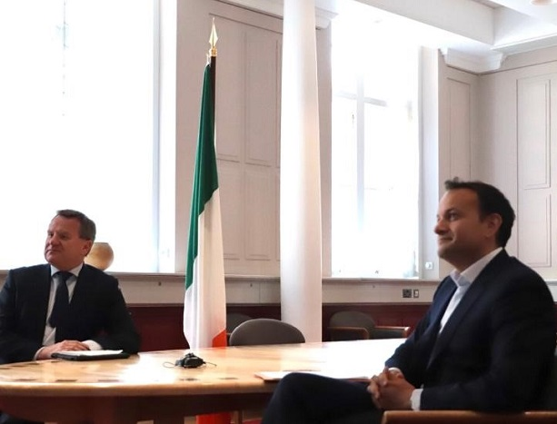 Rebooting and Reimagining for a better Ireland Positive engagement with An Taoiseach Leo Varadkar